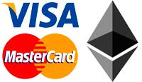 купить Ethereum через Visa MasterCard, грн