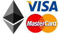 вывод Ethereum на карту Visa MasterCard, грн