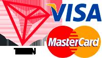 вывод TRON на карту Visa MasterCard, грн